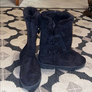 3 for $12 fuzzy boots